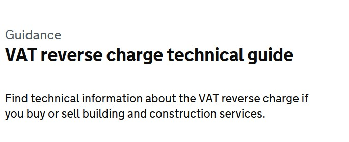 Teresa Smith Bookkeeping CIS Recverse Charge changes